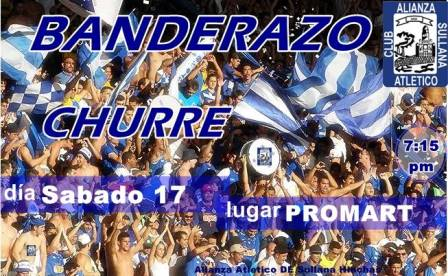banderazo churre