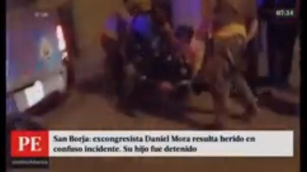 Daniel Mora resultó herido tras confuso altercado