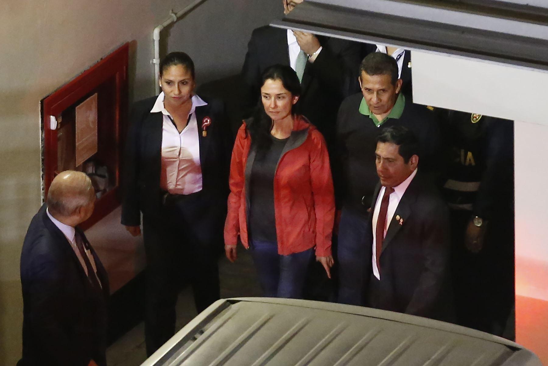 TC falla a favor de liberación de Ollanta Humala y Nadine Heredia