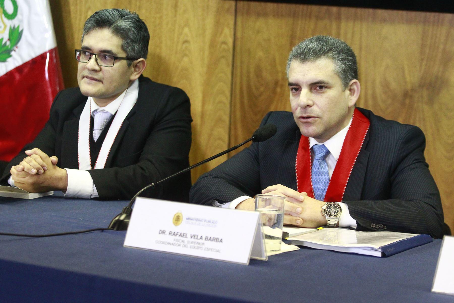 Sacar a fiscales Vela y Pérez ocasionaría un retroceso — Lava Jato