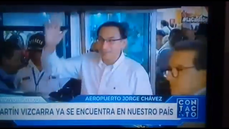 Martín Vizcarra Cornejo, retornó a Perú para reemplazar a Pedro Pablo Kuczynski