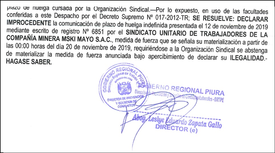 Documento Miski Mayo