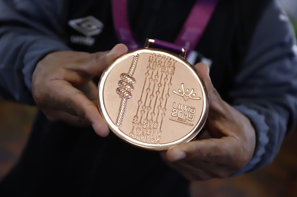 Atleta panameño Francisco Cedeño se lleva medalla de plata en Juegos Parapanamericanos