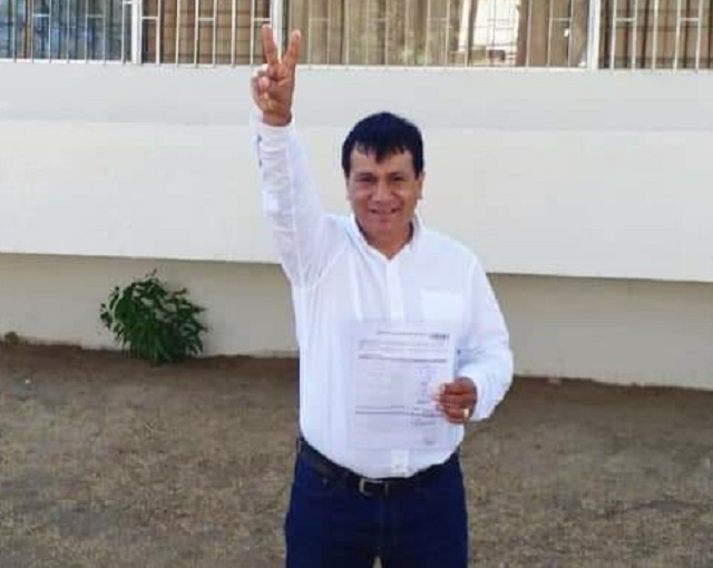 Edward Zarate, candidato de Fuerza Popular